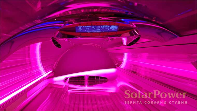 Соларно студио SolarPower Pulse Fitness & Spa Bulgaria - солариум megaSun 7900 Alpha