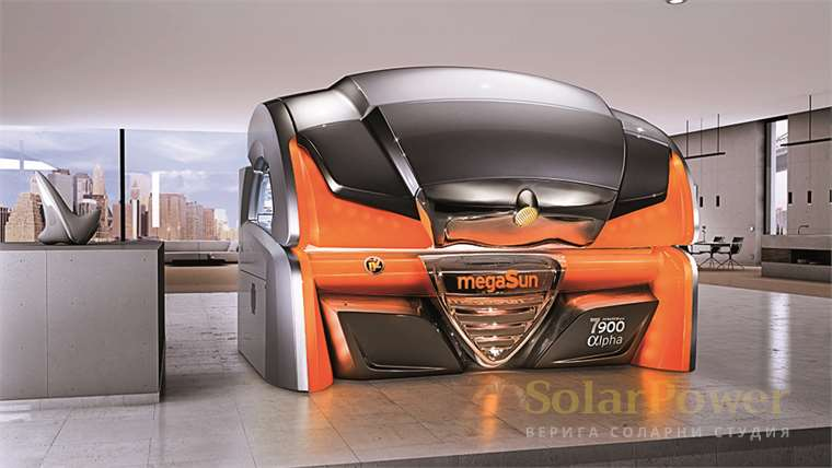 Солариум megaSun 7900 Alpha intelliSun